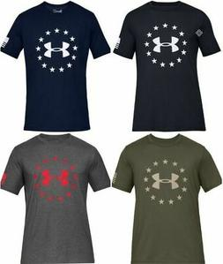 Under Armour 1333351 Men's Athletic UA Freedom Logo T-Shirt