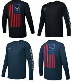 Under Armour 1343565 Men's Athletic UA Freedom New Flag T-Sh