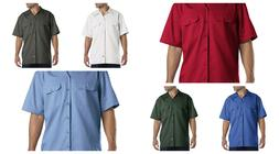 DICKIES 1574 MEN'S WORK SHIRT SHORT SLEEVE WORK UNIFORM BUTT