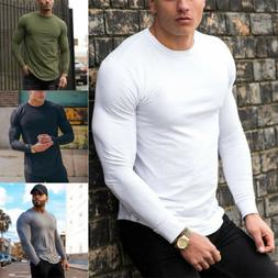 bodybuilding long sleeve t shirt men s