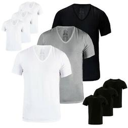 Calvin Klein 3 Pack Slim Fit 100% Cotton Men's V-Neck or Cre