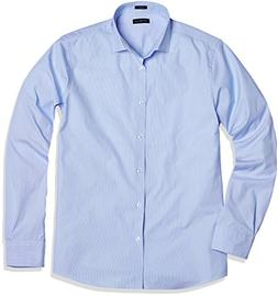 "Crafted Collar Men's Classic-Fit Dress Shirt 17"" Neck 34"" Sl"