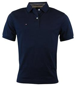 Tommy Hilfiger Mens Classic Fit Knit Cotton Polo Shirt - M -