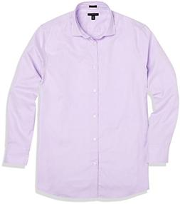 Crafted Collar Men's Classic Fit Spread Collar Casual Shirt
