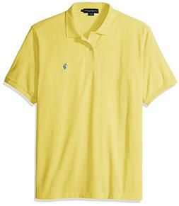 U.S. Polo Assn. mens Classic Polo Shirt , Lemon Frost, Large
