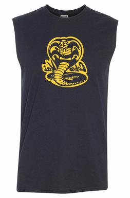 cobra kai sleeveless t shirt 80s karate