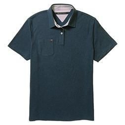 Tommy Hilfiger Mens Custom Fit Solid Color Polo Shirt - M -