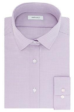 Calvin Klein Mens Dress Shirts Non Iron Slim Fit Gingham Spr