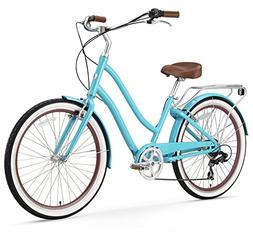 sixthreezero EVRYjourney Women's 7-Speed Step-Through Hybrid