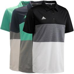 Adidas Golf Men's Advantage Color Block Polo Shirt, Brand Ne