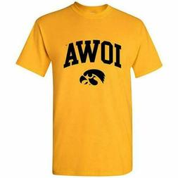 Iowa Hawkeyes UGP Men's NCAA Arch Logo Team Color Large size