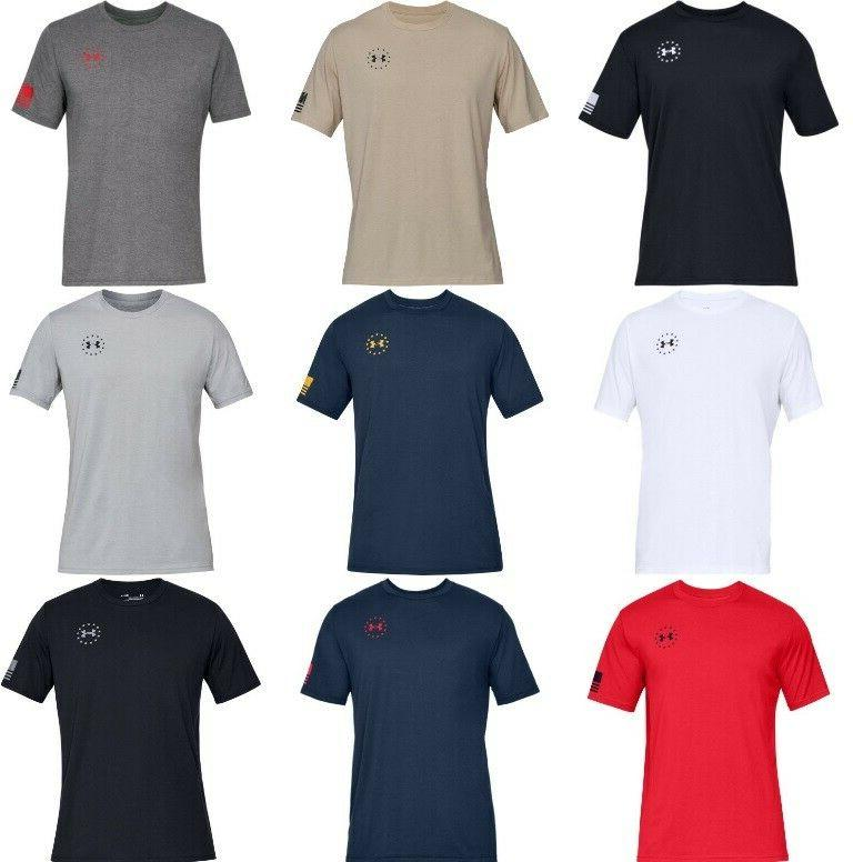 Under Mens Athletic T-Shirt Sleeve