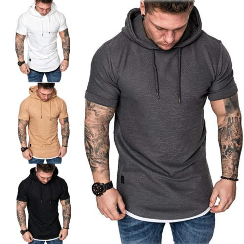 Fashion Men's Sleeve Casual Tops