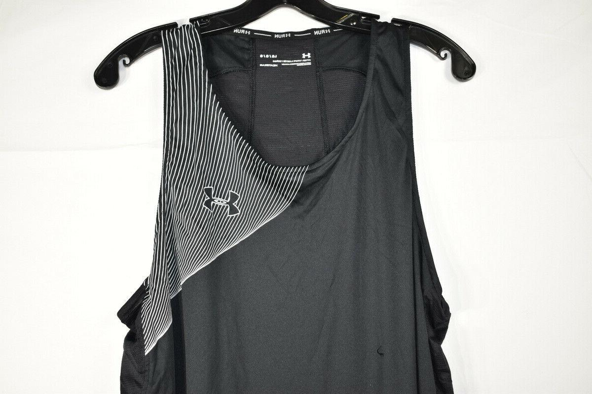 Under Heat Men's Fitted Tank Top, Size L,