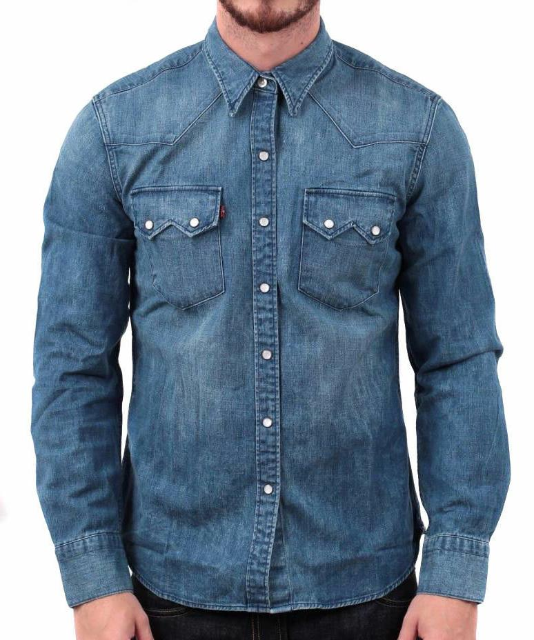 Levi's Men's Classic Long Sleeve Denim Button Up Casual Dres