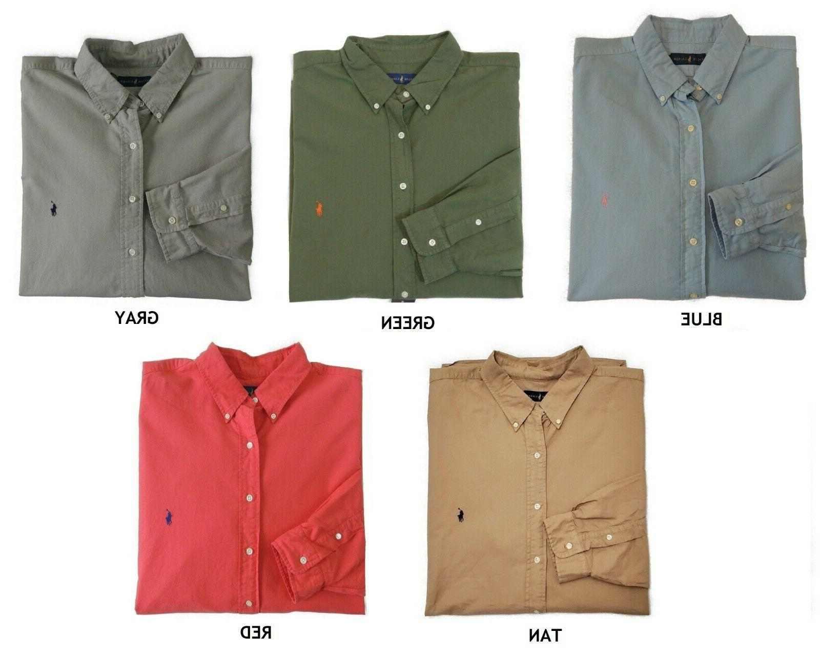 Polo Lauren Button Oxford