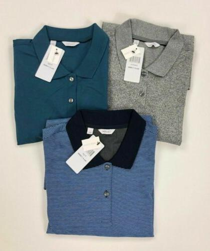 Calvin Klein Mens Liquid Touch Polo Shirt Variety Color Size