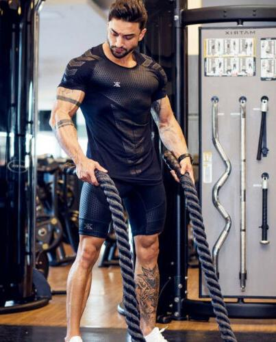 Fashion Slim Fit O Sleeve Muscle Tops