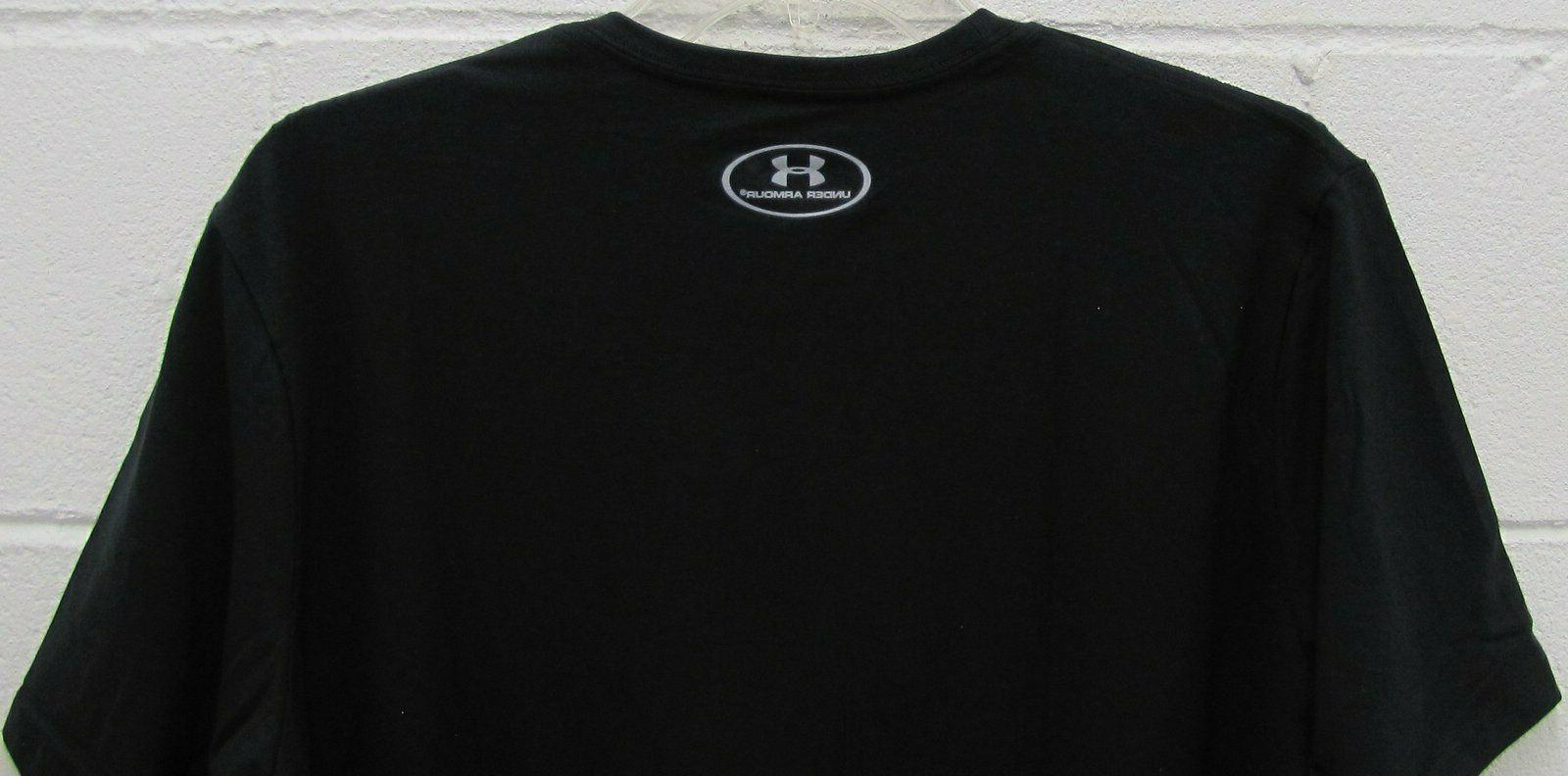 Under Heat Gear Shirt Short Sleeve Black M New