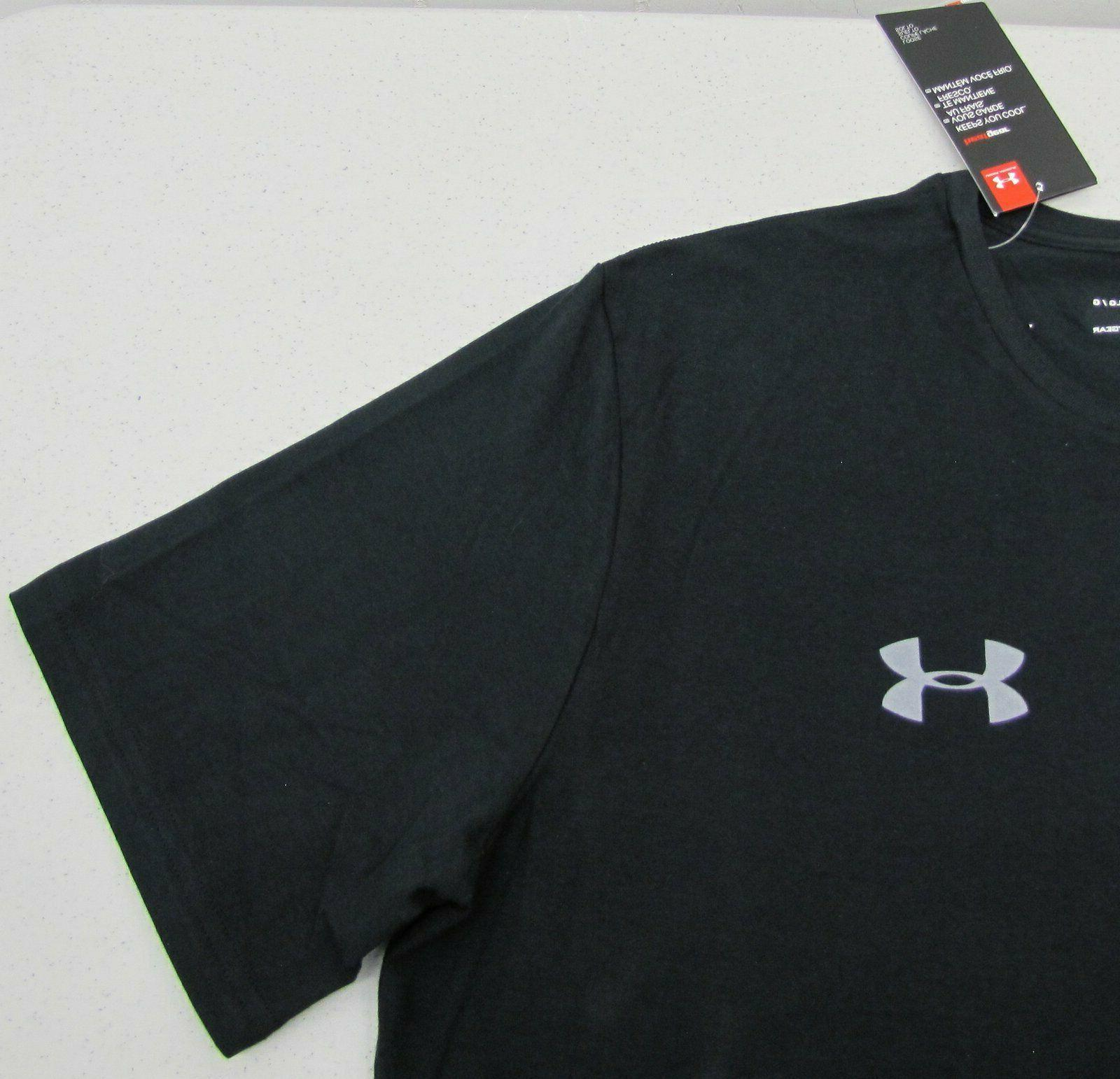 Under Armour Short Sleeve Black M