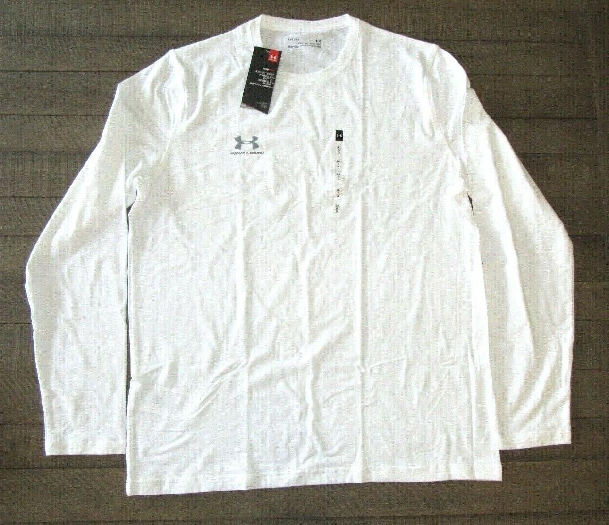 men s long sleeve charged cotton t