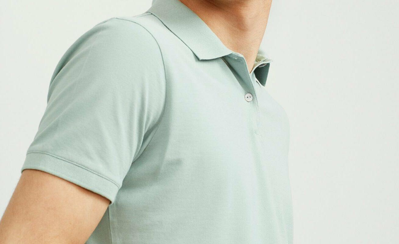 Men's Polo Golf Sports Plain Cotton Jersey T Sleeve