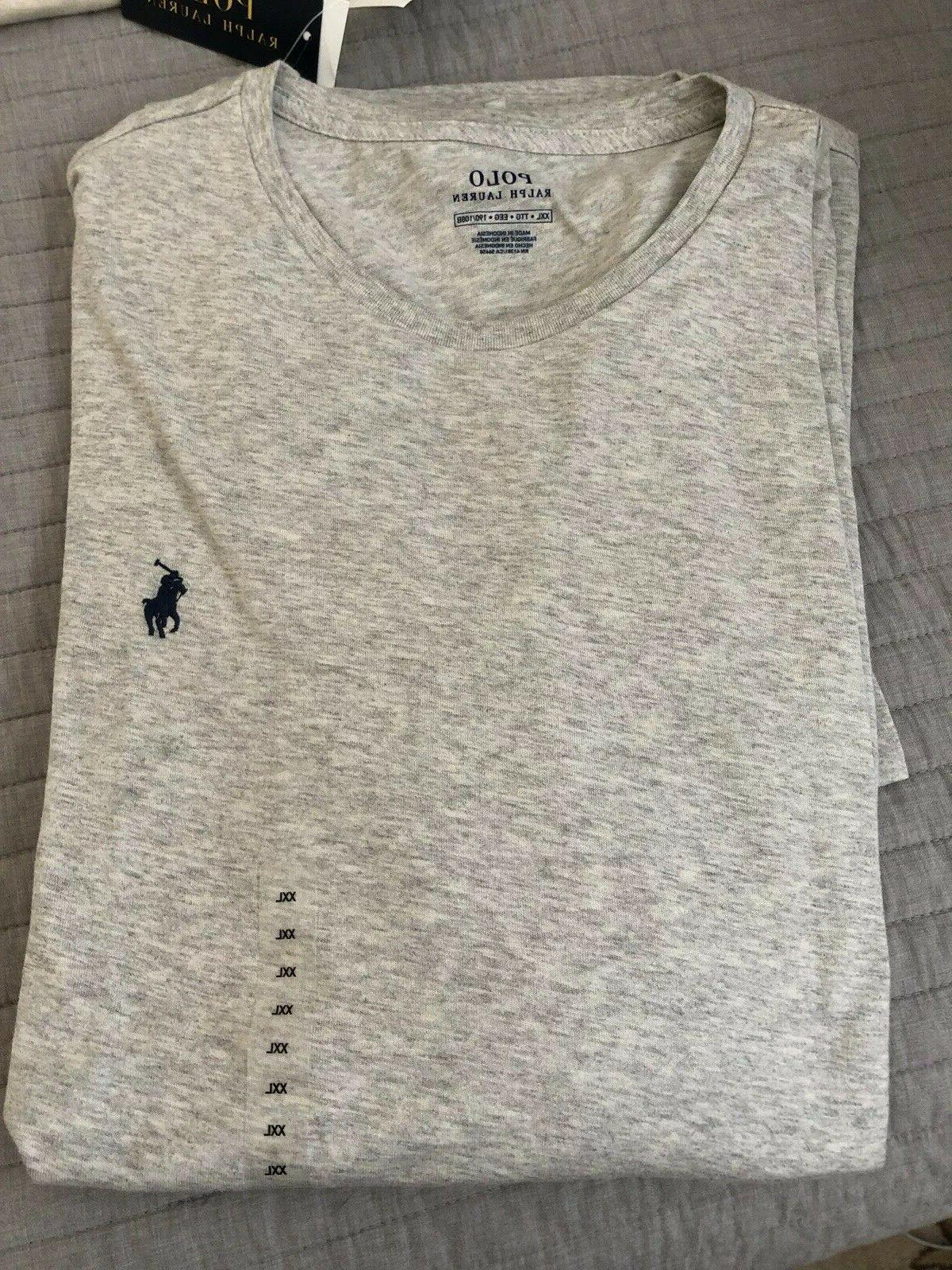 Polo Short Sleeve Crew Embroidered T-Shirt XXL