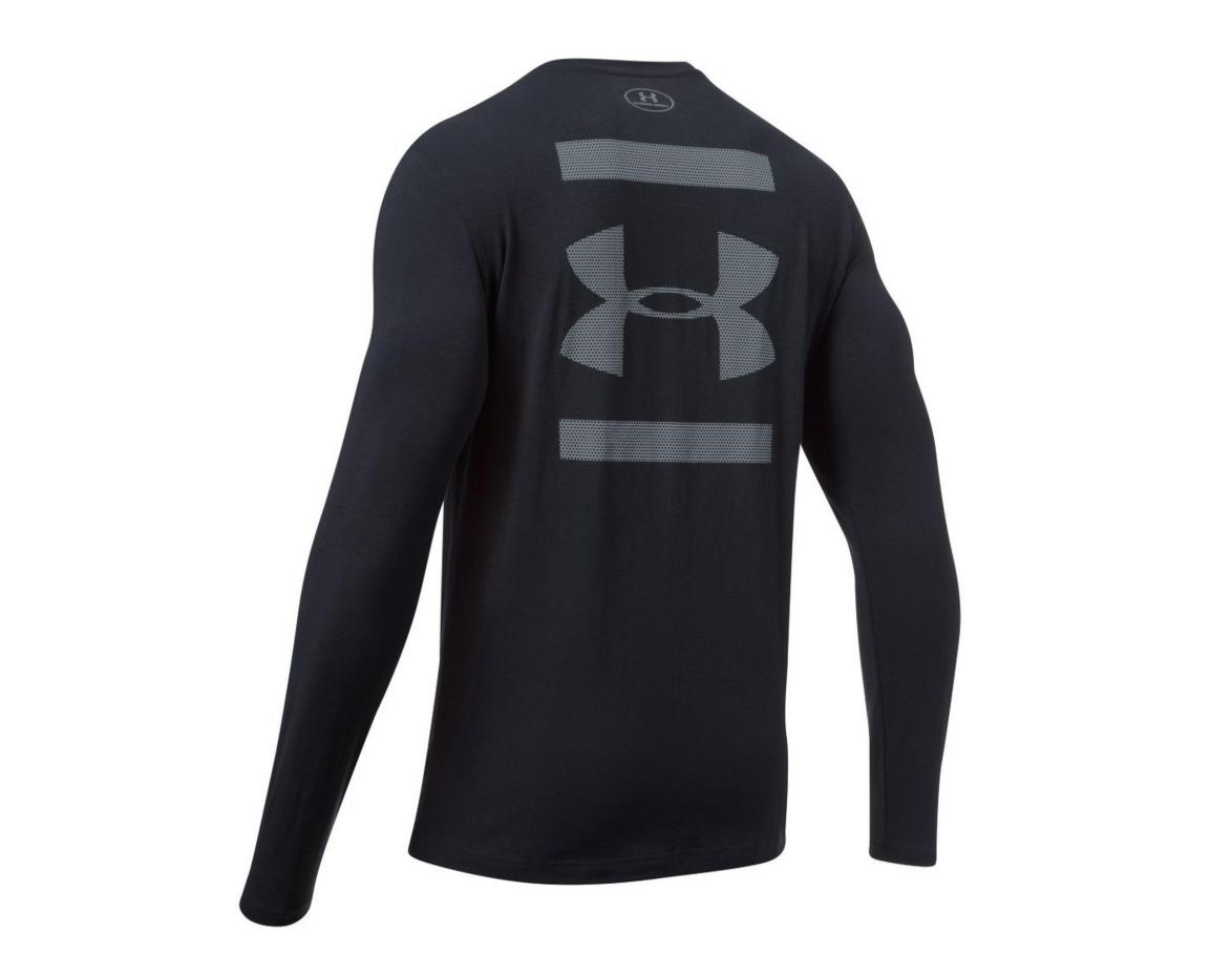 Under Armour Men's UA Back Graphic Long Sleeve Running Shirt