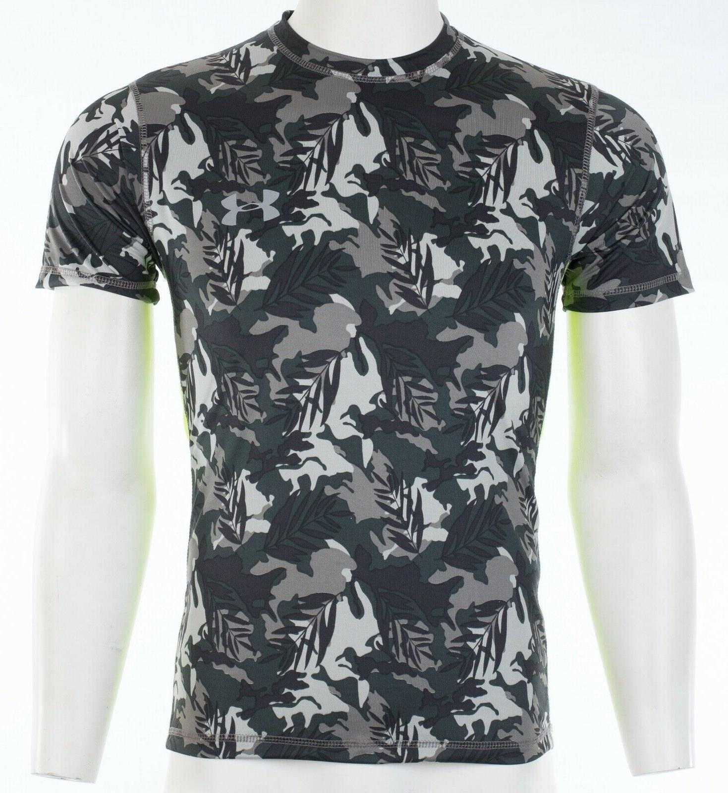 UNDER ARMOUR Athletic T-Shirt BLACK Semi Fitted $40