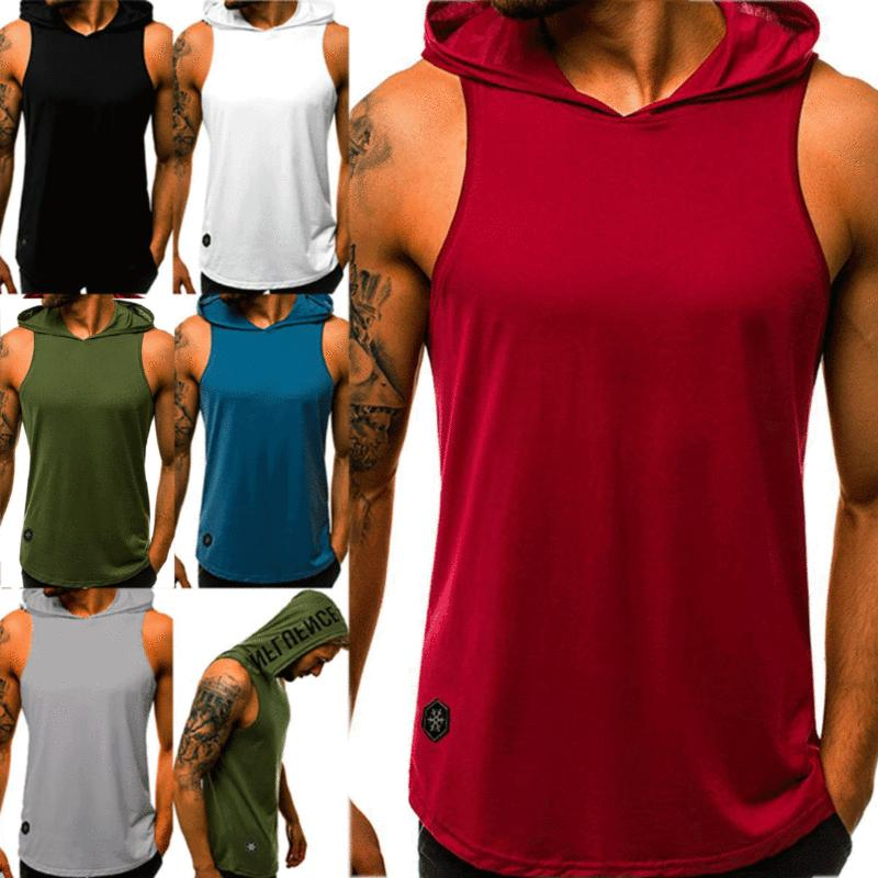 Mens Sports Bodybuilding Tops Muscle Stringer