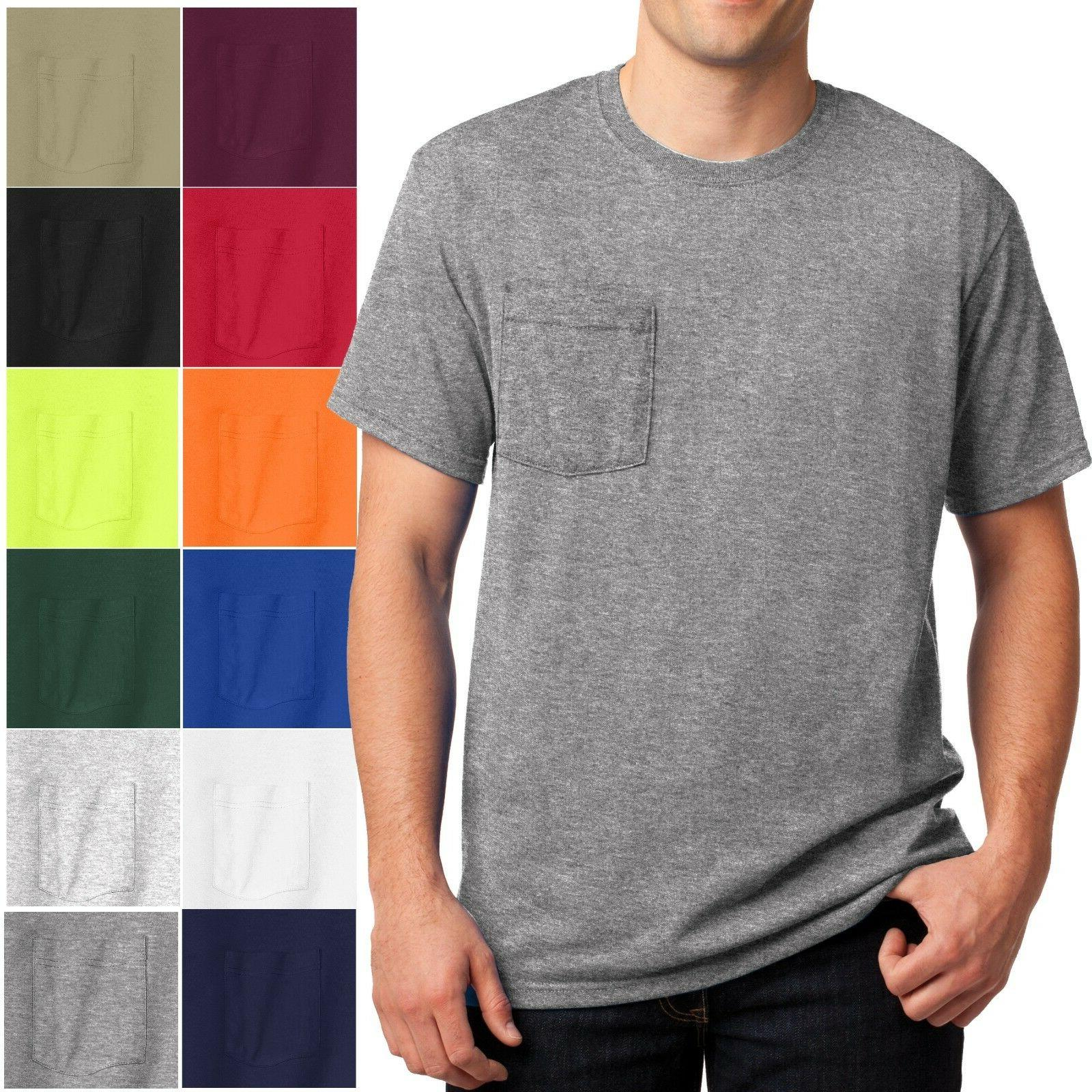 mens t shirt with pocket 50 50