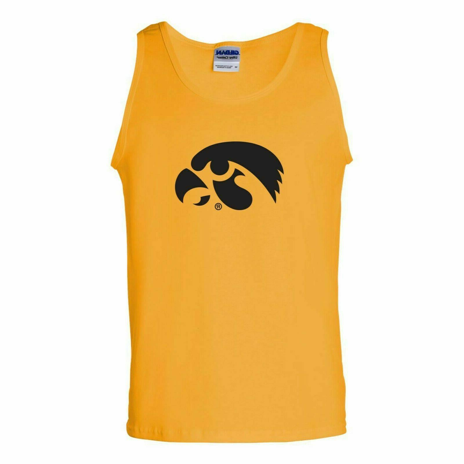 new iowa hawkeyes primary logo tank top