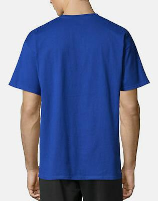 T-Shirt Mens Tee Classic Athletic Fit Cotton