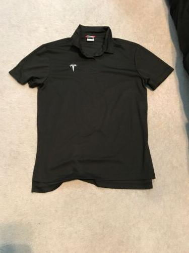 Tesla Men's Polo Shirt Black Medium Employee New