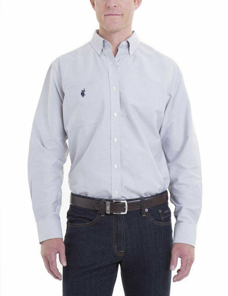 U.S. Polo Assn. Classic Fit Solid Shirt with Tags
