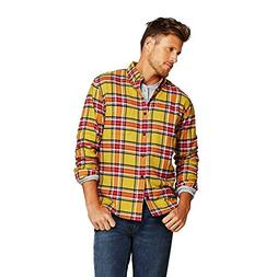 Lands' End Men's Traditional Fit Flagship Flannel Shirt, L,