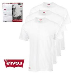 Levi's Men's House Mark 3-Pack Cotton Crewneck T-Shirts