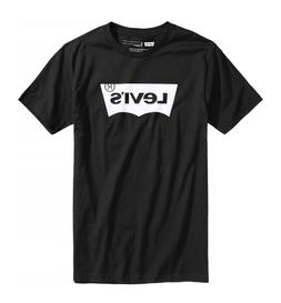LEVI'S Men's T-shirt  Classic Logo -Original Vintage - Black