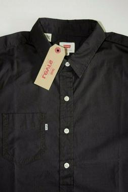 Levi's Short Sleeve Men's Shirt No buttons On The Collar 219
