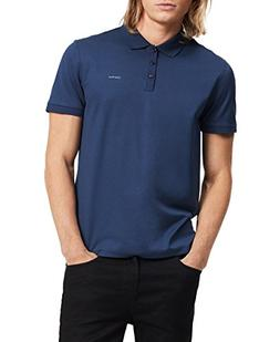 Calvin Klein Men's Liquid Touch Polo,Atlantis,Large