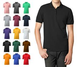 Men Polo Shirt Size S M L XL XXL New Standard Neck Classic N