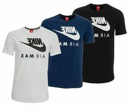 Nike Men's Air Max Graphic T-Shirt Dry Fit Swoosh Logo Athle