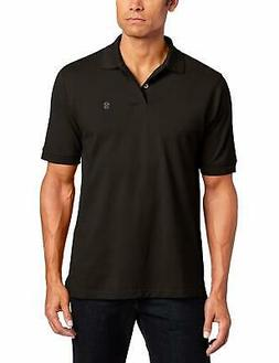 IZOD Men's Big and Tall Heritage Short Sleeve Solid Pique Po