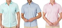 Men's Big & Tall IZOD Saltwater Dockside Chambray Button Dow