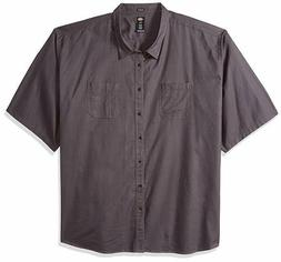 Dickies Men's Work Shirt Big & Tall Short Sleeve Shirt Relax
