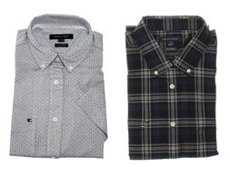 Tommy Hilfiger Men's Classic Fit Short Sleeve Button Down Wo