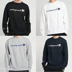 Champion Men's Classic Long Sleeve Script T-Shirt Various Si