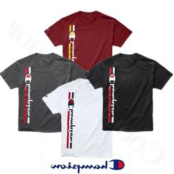Champion Men's Classic Short Sleeves T-Shirt Vertical Logo G