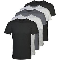 Gildan Men's Crew T-Shirt 5 Pack, Assortment, X-Large