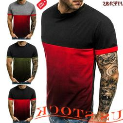 Men's Fashion Slim Fit Polo Shirts Short Sleeve Casual Golf